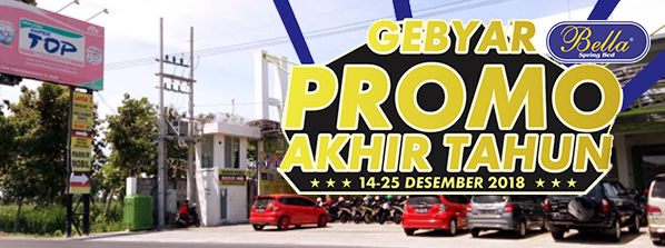 Gebyar Promo Akhir Tahun Mebel Dina Bella Springbed Official Website