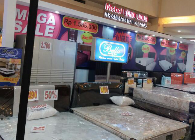 Mega Sale Bella Springbed Di Mall Olympic Garden Malang Mog Bella Springbed Official Website